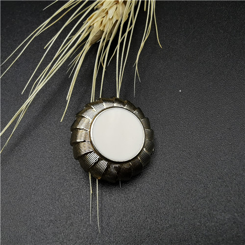 shank alloy decoration button for garment