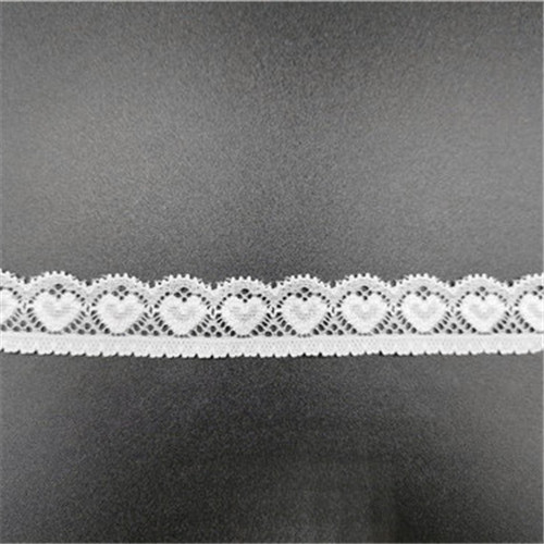 new arrival white elastic lace for garment