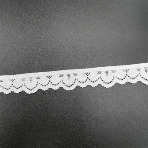 fashion wholesale white elastic lace tape