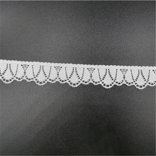 white fancy elastic lace 2020