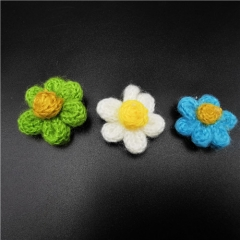 embroidered small flowers trims