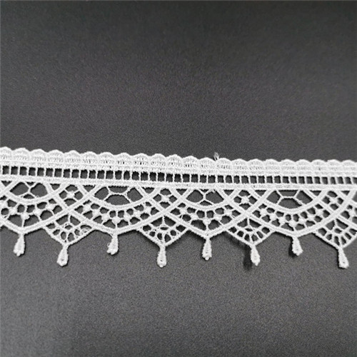 beautiful polyester flower lace high qulaity