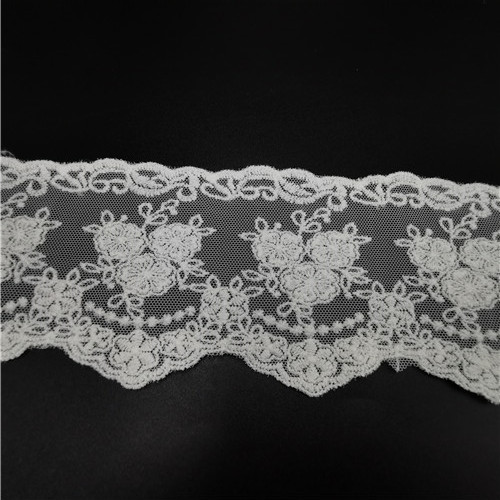 fashion embroidery flower water soluble lace