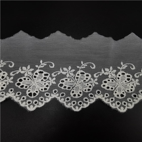 embroidery polyester water soluble lace