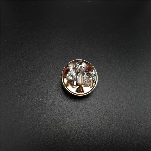 hot sale round jewelry shank button