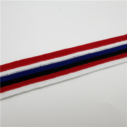 fashion multicolor grain stripe webbing 30mm