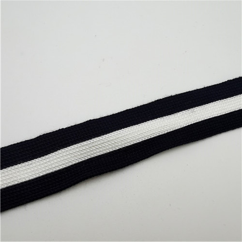 stripped polyester knitting ribbon