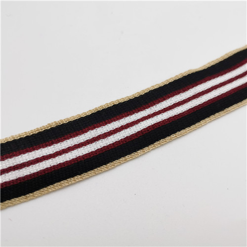 multicolor grain stripe webbing tape