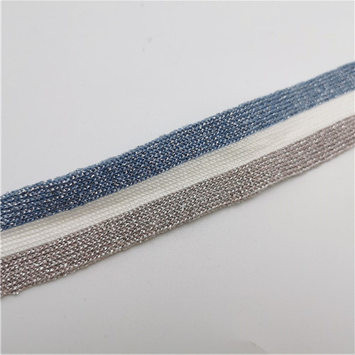 hot sale metallic ployester webbing tape