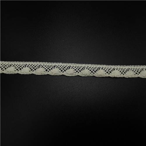 10mm embroidered cotton lace for garment