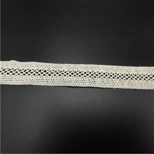2cm embroidered crochet cotton lace tape